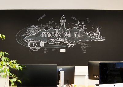 Mobiel.nl – Mural development room